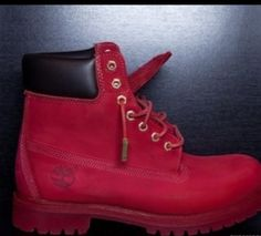 Suicide Red Timbs ‼️