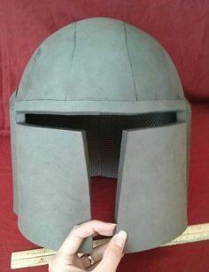 Mandalorian Helmet Pattern : mandalorian, helmet, pattern, Pattern:, Simple, Mandalorian, Style, Helmet, Template, Casco, Fett,, Armadura, Cosplay,, Imagenes