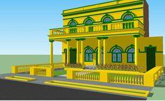Casa del barrio el Prado de la ciudad de Barranquilla