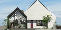 クラシスホーム モデルハウスのご案内|愛知・名古屋の注文住宅 Gable Roof, House Roof, Home Projects, Gazebo, Architecture Design, Villa, Outdoor Structures, Doors, Interior Design