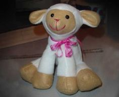 Lamkins Lamb Soft Toy Sewing Pattern INSTANT DOWNLOAD