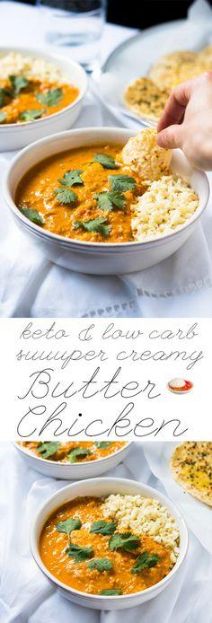 Low Carb & Keto Butter Chicken #ketobutterchicken #butterchicken