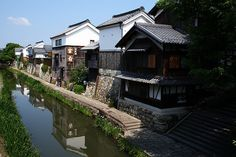 #old #town, Oumi-hachiman city, Shiga prefecture, Japan.
