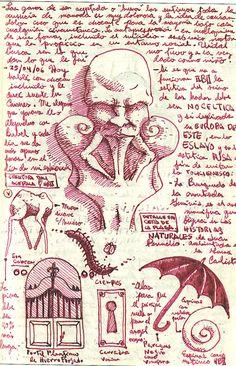 Los sketches de Guillermo del Toro