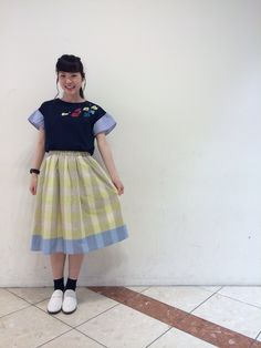 刺繍が可愛いカットソーAND休館日のお知らせ! | HEP FIVE店 | POU DOU DOU ショップブログ
