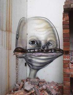 Favela Graffiti: Brazil