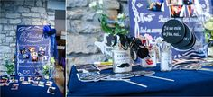Photographe : Charlotte Doulière, mariage bleu, wedding, blue, blue wedding, decor mariage, décoration mariage, wedding decor, wedding decor blue
