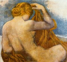 Dina Vierny Artwork By Aristide Maillol Oil Painting & Art Prints On Canvas For Sale Maurice Denis, Local Art Galleries, France Art, Pre Raphaelite, Collector Dolls, Figurative Art, Canvas Art Prints, Painting & Drawing, Art History