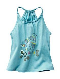 Girl's Vest Top, Girl