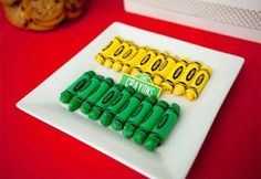"Sesame Street birthday party - ""Crayons"""