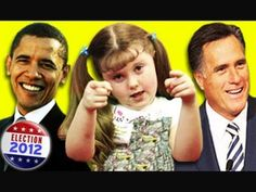 KIDS REACT TO ELECTION 2012...I want to be friends with ALL of them!!!