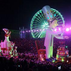 "Carnaval 2014 ""Roi de la Gastronomie"". Carnival 2014 ""King of Gastronomy"" #nicecarnaval #nicecarnaval2014 #carnavaldenice #placemassena #massenasquare"