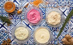 Maionese senza uova - Marco Bianchi Hummus, Salsa, Food And Drink, Wheat Foods, Ethnic Recipes, Vegan Mayonnaise, Cream, Canning, Kitchens
