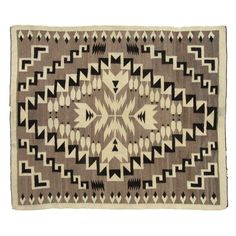 Navajo Rug w/ Feathers Native American Rugs, Native American Beading, Native American History, Navajo Weaving, Navajo Rugs, Textiles, Southwest Art, Native Art, Textile Artists