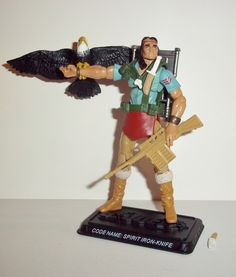 gi joe SPIRIT 2008  25th anniversary IRON KNIFE v3 complete nofc complete action figure for sale in online toy store to buy now. toy series