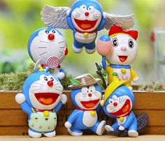 6pcs/lot Doraemon Mini Figures Cute Flying Doraemon Dorami Classic PVC Action Figure Toys Collection Model Toy for Birthday Gift //Price: $US $8.88 & FREE Shipping //     #clknetwork