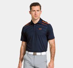 Men's UA HeatGear® ArmourVent™ Linear Polo