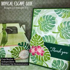 Tropical Escape Suite by Stampin'Up!