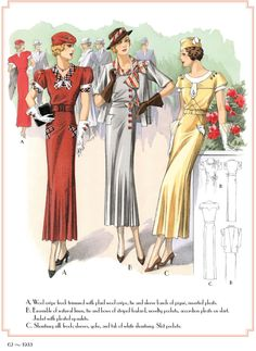 SAMPLE PAGE FROM: A Decade of French Fashion, 1929-1938: From the Depression to the Brink of War By: Mary Carolyn Waldrep -