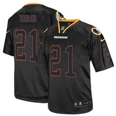 90f970ed7 Nike Redskins  21 Sean Taylor Lights Out Black Men s Stitched NFL Elite  Jersey Football For