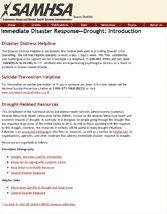 Disaster Response Webinars on Disaster Mental Health. These look great.