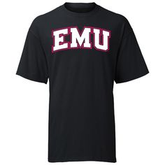 A-Game EMU Eastern Michigan 'Initials' Tee