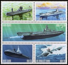 Submarine Stamps