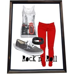 """""""Rock outfit"""" by zurygrek on Polyvore"""