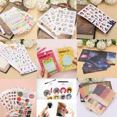 Multi-type-Scrapbook-Sticker-Album-Calendar-Diary-Decor-Paster-Animal-Girl-Cat