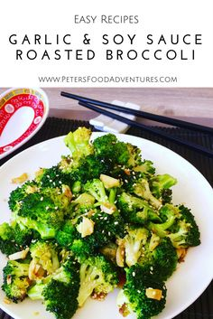 Super easy and delicious. Chinese style, oven roasted, flavourful and packed full of vitamins. The best broccoli side dish you ever had! Roasted Broccoli with Garlic and Soy Sauce (Broccoli Recipes Side Dish) Chinese Vegetables, Mixed Vegetables, Vegetable Sides, Vegetable Recipes, Vegetable Dish, Veggie Side, Side Dish Recipes, Dinner Recipes, Dinner Ideas