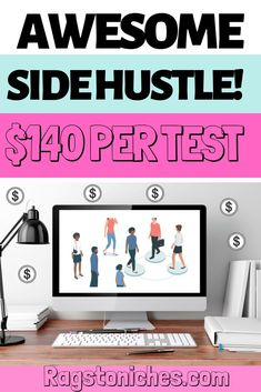 Looking for a new side hustle?  Try out this awesome research company that will pay $140 on average per test.  Whether you're looking to make some extra cash, make money online, or find some flexible work from home - this is a good opportunity. #sidehustle #makemoneyonine #workfromhome #onlinesurveys Make Money Fast Online, Make Money Now, Hobbies That Make Money, Cash From Home, Earn Money From Home, Legit Work From Home, Work From Home Jobs, Make Money From Pinterest, Hustle Money