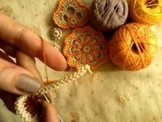 Урок № 10 Цветочек со шнура с ягодкой