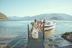 het Comomeer, wat een start van je trouwdag!