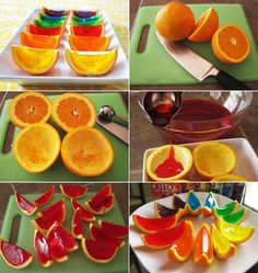 Who Will Make These Orange Jelly Shots?