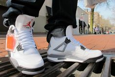 The craze at the moment! Air Jordan IV Cement #sneakers