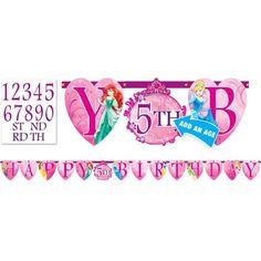 Disney Princess Letter Banner 10ft