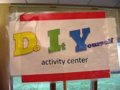 Keeping Up with Kids: IFLS Youth Services: Prescott Public Library's DIY Activity Center
