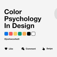 Ui Design, Graphic Design, Design Trends, Design System, Design Ideas, Color Psychology Test, Learn Computer Coding, Cinema, Paint Colors For Home