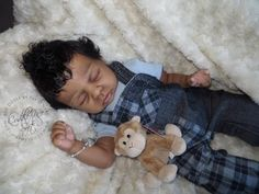 Reborn Baby Boy for sale Cozy by Linda Smith