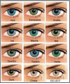 Pin By Candyce Hatton On Stuff That I Love In 2019 Pinterest Bausch Lomb Colour Chart How To Choose Coloured Contact Lenses