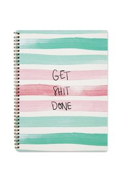 2016 Large Spinout Notebook - 120 Pages