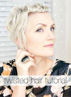 Twisted Hair Tutorial
