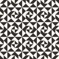 Impressive photo - pay a visit to our write-up for more good tips! Quilting Templates, Quilt Patterns Free, Zentangle Patterns, Quilting Projects, Quilting Designs, Black And White Quilts, Black And White Abstract, Black White, Geometric Quilt