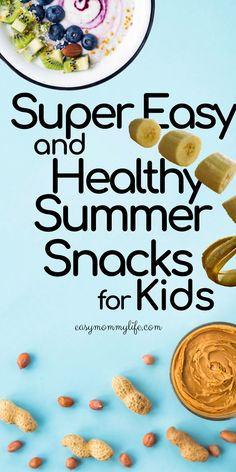 20 Insanely Easy And Healthy Summer Snacks For Kids-Easy Mommy Life Healthy Summer Snacks, Healthy Toddler Meals, Easy Meals For Kids, Kids Meals, Savoury Finger Food, Dairy Free Options, Clean Eating Snacks, Baby Food Recipes, Holiday Recipes