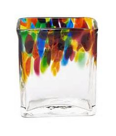 Hand Blown Art Glass Vase - Bing images