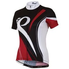 Pearl Izumi Women's W Elite LTD Jersey, Black/Crimson Slash, X-Small - http://ridingjerseys.com/pearl-izumi-womens-w-elite-ltd-jersey-blackcrimson-slash-x-small/
