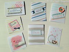 Little-Miss-Sophie : Viele viele bunte Karten! Stampin up!