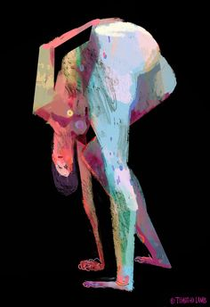 Timothy Lamb. these are digital adaptations of figure studies i did quite a while back