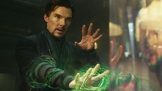 """Benedict Cumberbatch's Doctor Strange can finally be seen in the upcoming """"Thor: Ragnarok"""". A new Japanese trailer for Taika Waititi's upcoming Marvel film has arrived and teases the appearan… Marvel E Dc, Marvel Heroes, Marvel Characters, Marvel Movies, Marvel Avengers, Loki, Thor, Stan Lee, Benedict Cumberbatch"""