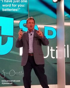 I have just one word for you: batteries! - #Futurist Jim Carroll  Maybe not the most motivational daily quote Ive put up there but Ive certainly been writing and speaking about batteries quite a bit as of late.  Read my blog post The Future of Just About Everything is Batteries http://ift.tt/2xwUjTc  Rapid trends with battery technology will impact everything from utilities and the electrical grid to cars and drones micro-hyper-connected devices that control intelligent highways to so much…
